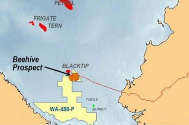 Surveys begin at what could be one of Australia's largest untapped oil and gas reserves. Map courtesy of Melbana Energy
