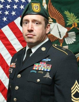 Sgt. 1st Class Jeremy W. Griffin, 40, of Greenbrier, Tenn., was killed in action by small arms fire, on Monday in Wardak Province, Afghanistan. Photo courtesy of USASOC Public Affairs/Website