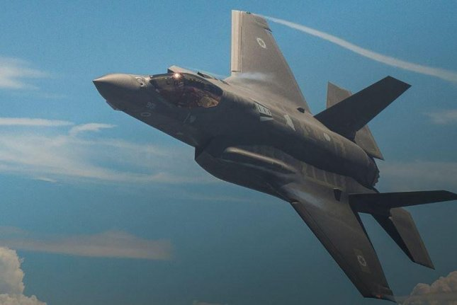F-35 fighter planes of the United States, Germany, Italy and Greece joined those of Israel this week for a 12-day Blue Flag joint exercise in southern Israel. Photo courtesy of Lockheed Martin