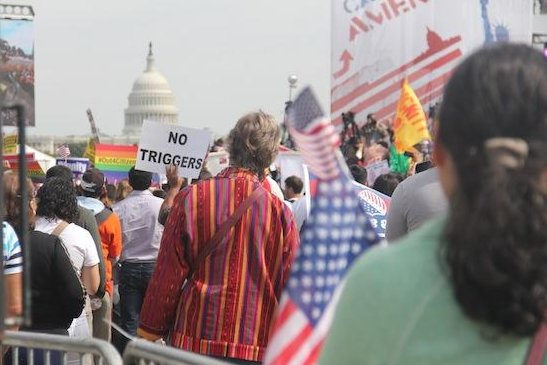 Immigration reform rally, Washington, D.C. October 8, 2013 (Jayna Omaye/MNS/UPI)