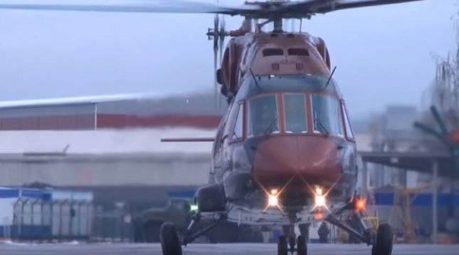 Russia's United Engine Corp. will produce engines for the latest Mi-38 multi-purpose helicopter, as well as other models. Image courtesy of Russian Helicopters