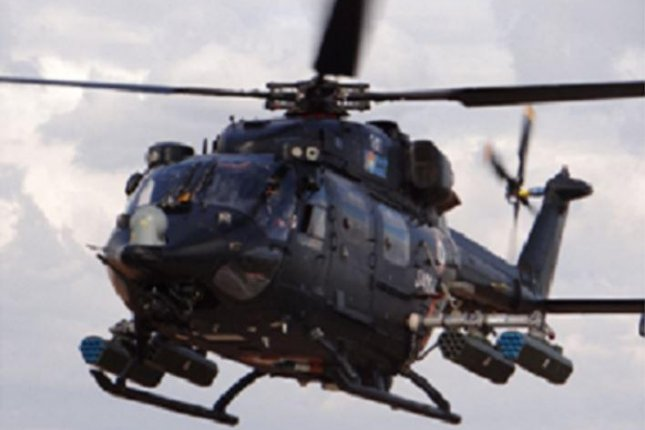 Hindustan Aeronautics Limited makes the advanced light helicopter for India, and has now contracted Thales to provide the rotorcraft with rocket launchers. Photo courtesy Hindustan Aeronautics