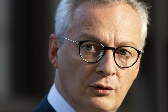 French Economy and Finance Minister Bruno Le Maire, pictured here in September, said Tuesday the European Union would hit back against U.S. tariffs imposed in retaliation for the new French digital services tax. File photo by Ian Langsdon/EPA-EFE
