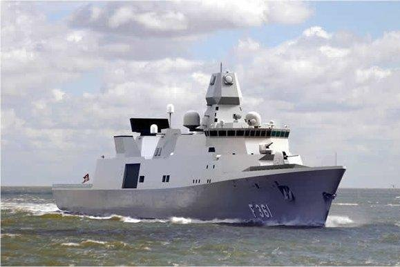 Terms is to design a ballistic missile defense capability for an Iver Huitfeldt-class frigate of the Danish Navy. Photo courtesy Terma
