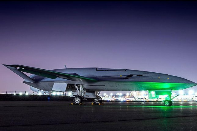 BAE Systems' Vehicle Management Control Systems will control flight surfaces and perform management duties of Boeing's MQ-25 unmanned aircraft, BAE announced on Monday. Photo courtesy of Boeing Co.