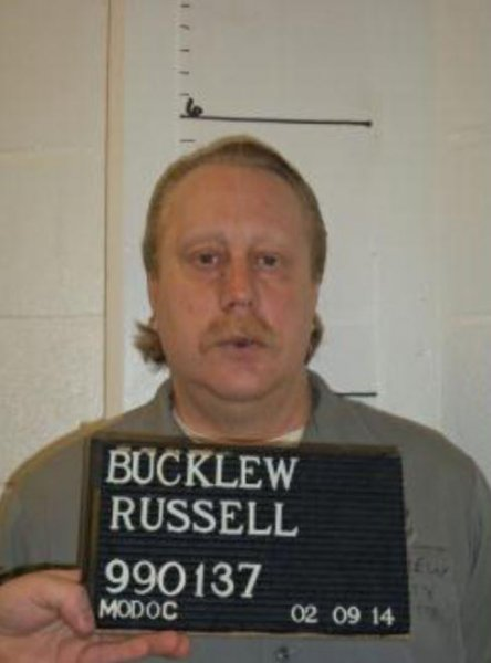 Russell Bucklew received the death penalty for killing his ex-girlfriend's presumed new boyfriend in 1997. File Photo courtesy of the Missouri Department of Corrections