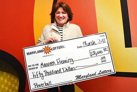 Maryland woman hits Powerball twice in seven years