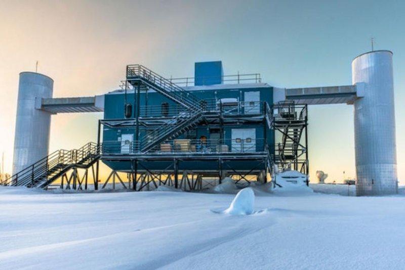 IceCube Neutrino Observatory traces ghost particle to ...Icecube Neutrino Observatory Core