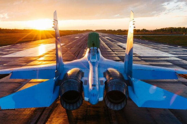 Russia's Su-30SME, the export version of the Su-30SM, pictured, features a Russian-made avionics suite. Photo courtesy Irkut