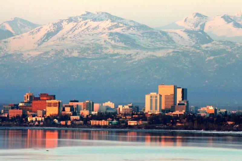 Three earthquakes shook north of Anchorage, Alaska Saturday morning. Photo byFrank Kovalchek(CC BY 2.0) via Wikipedia