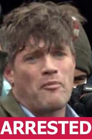 Federico Klein is seen in a still image from video footage taken on January 6 in Washington, D.C., around the time of the Capitol assault. Image courtesy Federal Bureau of Investigation