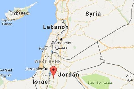 A Canadian woman was among seven people killed Sunday in Jordan as unknown gunmen fired at police officers at various locations, including an ancient castle. Google Maps screenshot