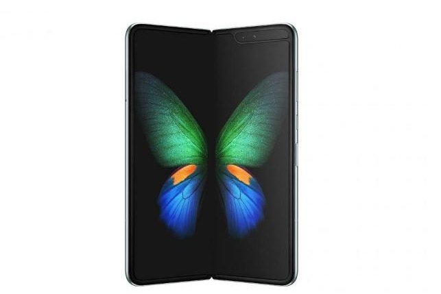 The Shanghai rollout of Samsung's Galaxy Fold smartphone, scheduled for Wednesday, was postponed after advance reviewers noted problems with the folding screen. Photo courtesy Samsung/UPI