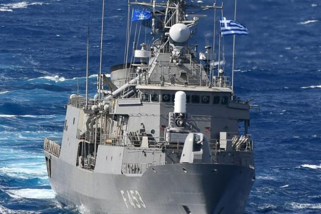 The Hellenic Navy's HS Spetsai is the flagship of NATO's Operation Sea Guardian, which wrapped its last focused security patrol this week. Photo courtesy of NATO