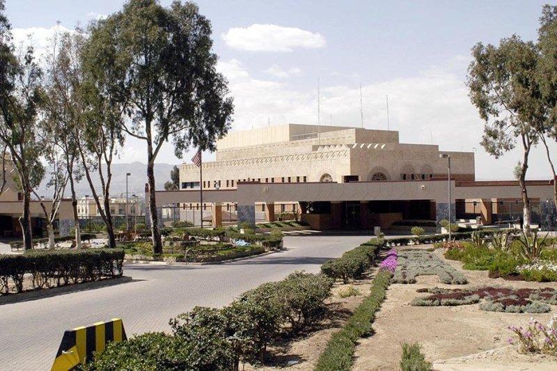 The U.S. Embassy in Sanaa, Yemen (CC/ U.S. State Dept.)