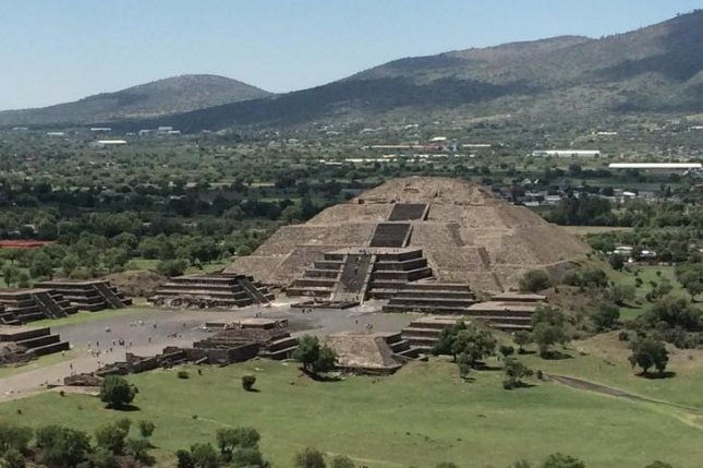 Teotithuacan's Moon pyramid. Photo by Gina Buckley-Yost/Penn State