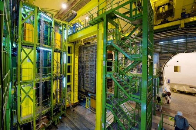 The Large Hadron Collider, Europe's largest particle accelerator, found four new exotic particles. Photo by Claudia Marcelloni/CERN