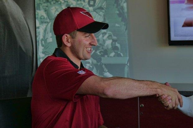Cardinals QB Josh Rosen overcomes shaky start in first practice
