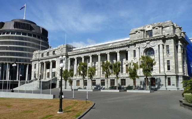The New Zealand Parliament House in Wellington, New Zealand. Photo by Michal Klajban/Wikimedia commons