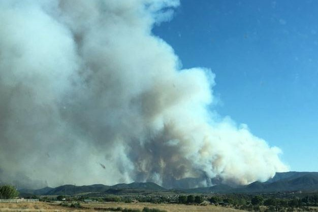 Goodwin Fire Near Mayer Burns More Than 4000 Acres