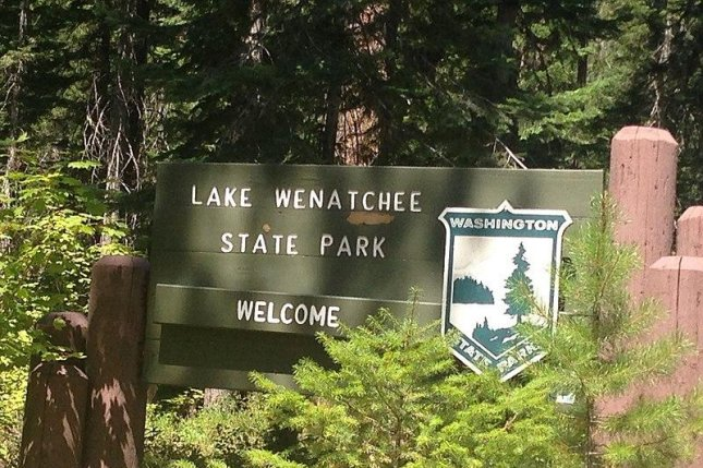 Lake Wenatchee State Park in Washington is one of several in the state that will close beginning Thursday due to the viral outbreak. Photo courtesy HoneyKnut/Wikimedia Commons/UPI