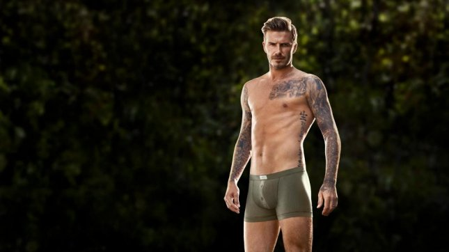 David Beckham for H&M. (Facebook)