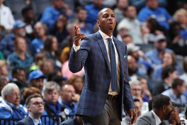 Memphis coach Penny Hardaway led the Tigers to the NIT last year. Photo courtesy of Memphis Athletics