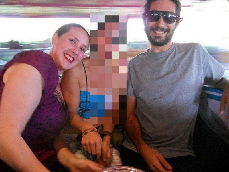Carly Charli Scott, left, with ex-boyfriend, Steven Capobianco, right.