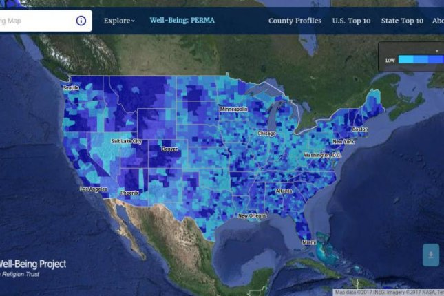 New map reveals personality traits of communities across the United ...