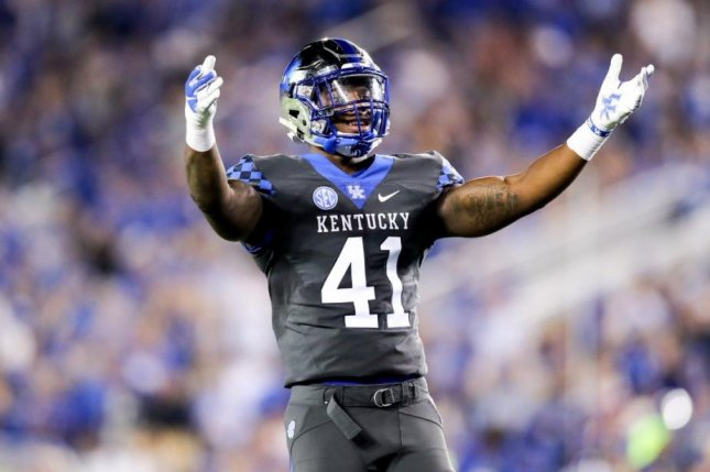 premium selection 5927c b5e19 Kentucky Wildcats LB Josh Allen wins Jack Lambert Award ...