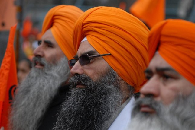 A Sikh temple in Orange County Calif. was vandalized with anti-Muslim and anti-Islamic State graffiti over the weekend. But Sikhs are not Muslims and members of the temple fear for the safety. Police are investigating as a possible hate crime. Photo by Sergei Bachlakov/Shutterstock