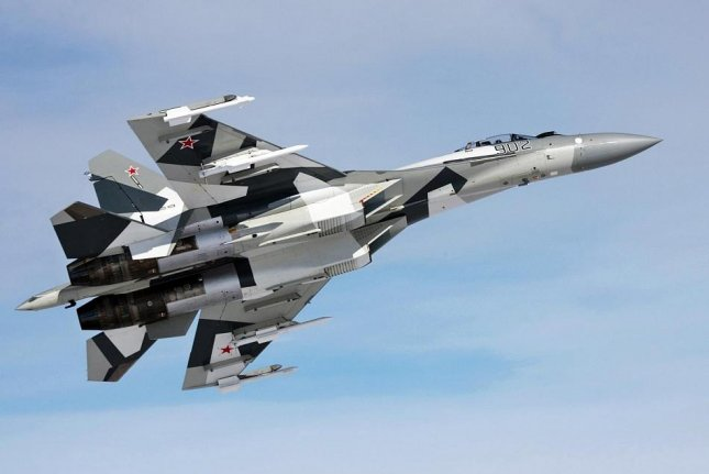 Russia's state-owned United Aircraft corporation is marketing their Su-35 fighter as a 4+ generation aircraft. Photo by the United Aircraft Corporation