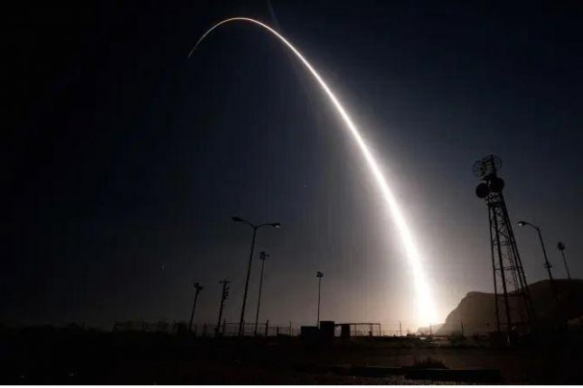 Northrop Grumman has been awarded a $13.3 billion contract for production of the Ground Based Strategic Deterrent, the planned replacement for the Minuteman 3 missile system. Pictured, a recent test of the current Minuteman 3 system at Vandenberg Air Base in California. Photo courtesy of U.S. Air Force