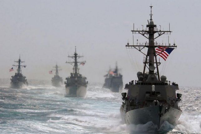 U.S. Navy Arleigh Burke-class guided missile destroyers. U.S. Navy photo