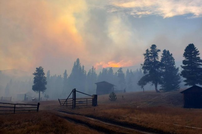 Colorado wildfires continue to blaze, including the Cameron Peak fire which started in August and had scorched 203,000 acres as of Monday. Photo courtesy of Inciweb