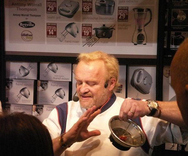 Antony Worrall Thompson apologized publicly for stealing cheese and wine from a Tesco store in Henley-on-Thames, England. Photo courtesy of hobbs_luton via Wikipedia