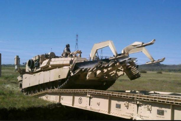 AECOM Management Services Corp. won a $9 million contract to supply parts and services for the Assault Breacher Vehicle weapon system. Photo courtesy of the U.S. Army