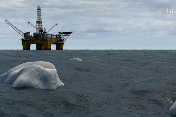 Eni tapping oil field off the coast of Norway under new regime designed to keep energy companies away from ice-bearing zones of the Barents Sea. Photo courtesy of the Petroleum Safety Authority of Norway.