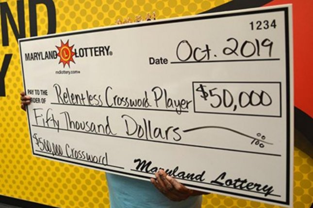 A Maryland woman decided not to buy a specific scratch-off ticket for four days, before eventually giving in and winning $50,000. Photo courtesy of the Maryland Lottery