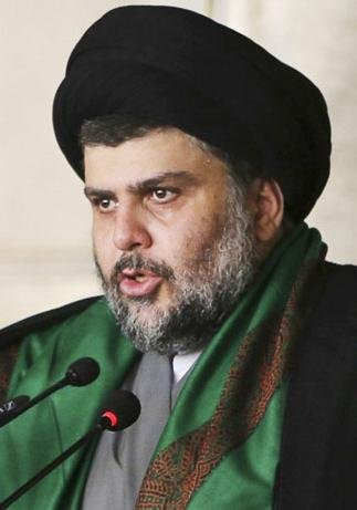 Shiite cleric Moqtada al-Sadr led a Baghdad rally Friday in which tens of thousands of demonstrators called for an end to government corruption. Photo by Sdfahmo/Wikimedia