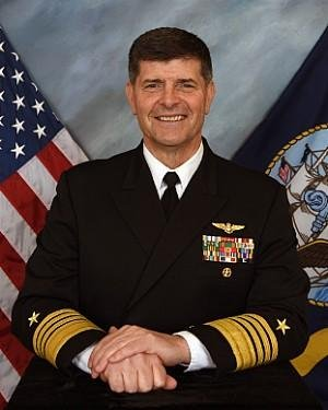 Adm. Bill Moran, a graduate from the U.S. Naval Academy in 1981, has worked to prepare the Navy for modern warfare by prioritizing a digital transformation of the service. Photo courtesy of U.S. Navy