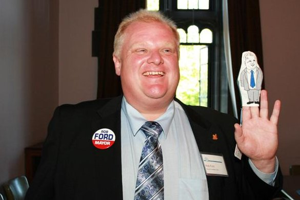 Toronto Mayor Rob Ford. (CC/Shaun Merritt)