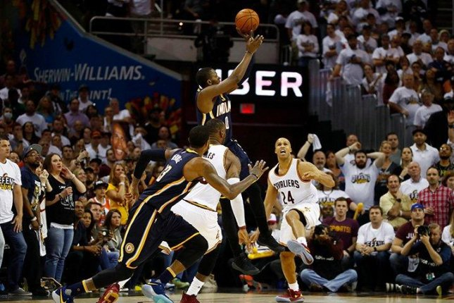 The Pacers feel they let Game 1 slip away against the Cavaliers with a missed last shot. Photo courtesy NBA.com