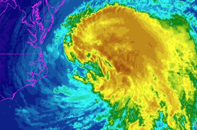 Weather watchers keep eye on Hurricane Maria churning toward East Coast