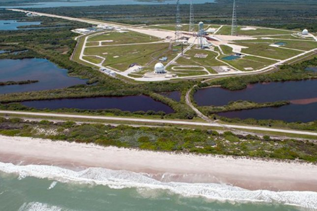 Kennedy Space Center has spent millions of dollars on shoreline restoration to protect its largest and most significant launch pads from rising seas and storms. Photo courtesy of NASA