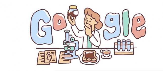 Google is paying homage to pioneering medical researcher Lucy Wills with a new Doodle. Image courtesy of Google