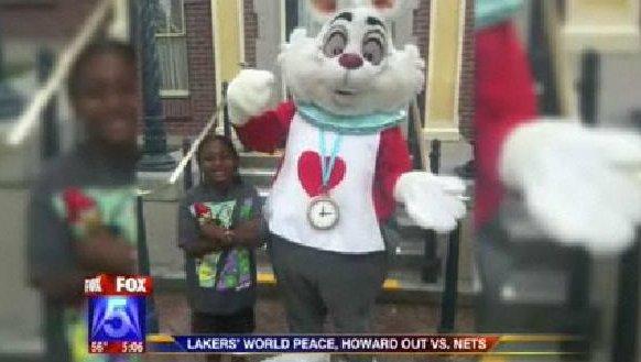 Disney Rabbit Racist?: Family sues Disney over un-hugging character [VIDEO]