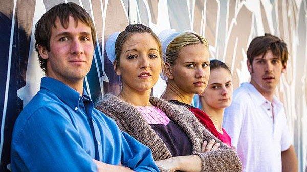 Devon (L), Lizzie, Iva, Betsy and Matthew. TLC.