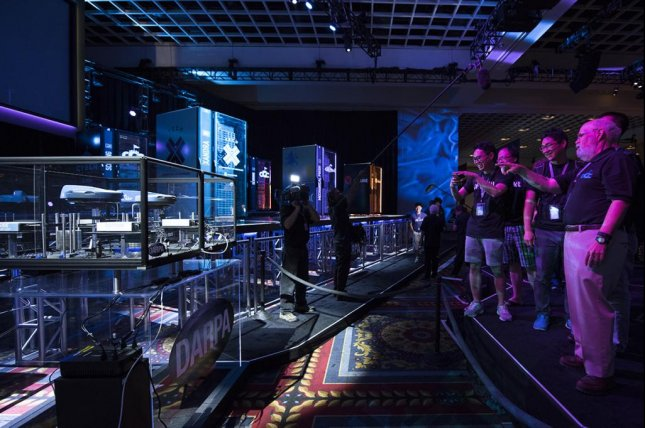 The U.S. Defense Advanced Research Projects Agency's first all-computer Capture the Flag tournament headed into its final face-off Thursday in Las Vegas. Photo courtesy DARPA