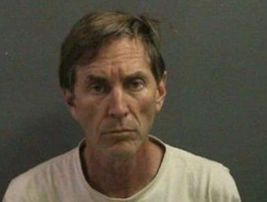 Jeffrey Scott Jones slashed his throat with a razor in a Santa Ana, Calif., court room after learning of his conviction on sexual assault charges. Photo courtesy of Huntington Beach Police Department